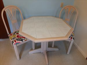 Small Kitchen Table with 2 chairs for Sale in Edmonds, WA