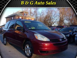 2004 Toyota Sienna LE AWD Mini-Van for Sale in Chelmsford, MA