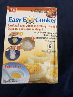 Easy egg cooker as seen on tv NEW IN BOX for Sale in Vancouver, WA