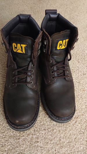 Cat Men's 2nd Shift Plain Soft-Toe Work Boot, Size 9 for Sale in Milwaukee, WI