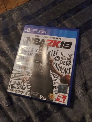 NBA 2K19 PS4 for Sale in Los Angeles, CA