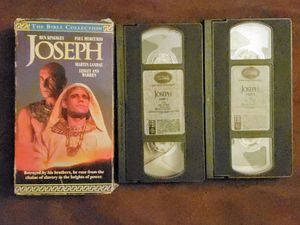 Joseph VHS, 1995, 2-Tape Set VCR Movie for Sale in Patsey, KY