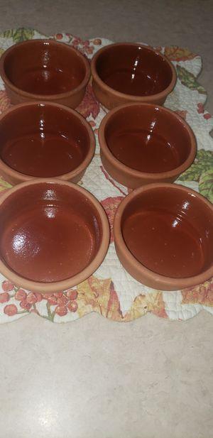 Clay yoghurt bowls x6 for Sale in Renton, WA