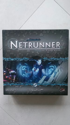 Android Netrunner Board game Card Game for Sale in Mission Viejo, CA