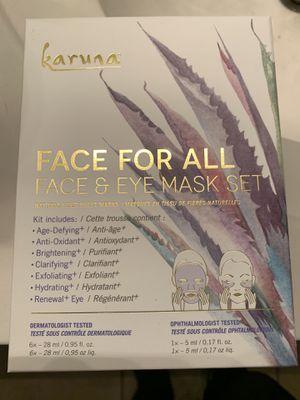 Karuna Face for All Face & Eye Mask Set for Sale in Chandler, AZ