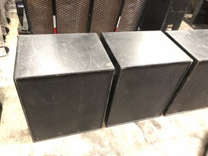 "EAW SB250 dual 15"" subwoofers with nl-4 or terminal connections for Sale in Tempe, AZ"