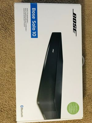 Bose Solo 10 series ii TV sound system for Sale in Durham, NC