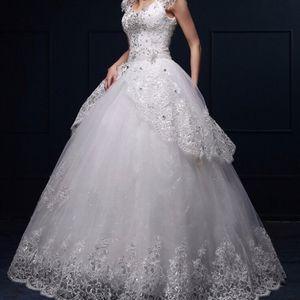 Crystal Sparkle Wedding Dress/Ballgown for Sale in San Diego, CA