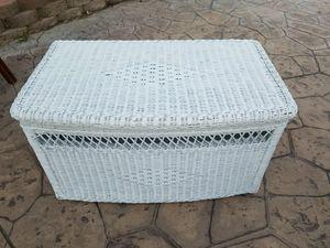 Wicker chest for Sale in Wildomar, CA