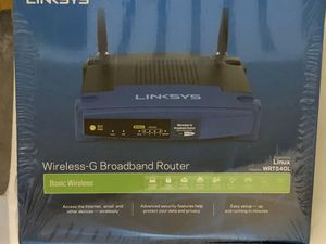 Linksys Wireless-G Broadband Router NEW for Sale in San Diego, CA