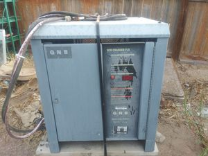 24 volt battery charger for forklift for Sale in El Paso, TX