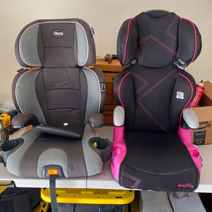 Child Booster Seats With Detachable Backs for Sale in Huntington Beach, CA