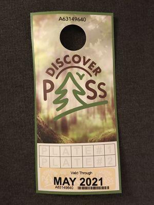 Discover pass for Sale in Shoreline, WA