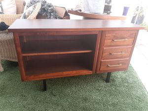 Mid century credenza with drawers tv stand media console entertainment center vintage for Sale in San Diego, CA
