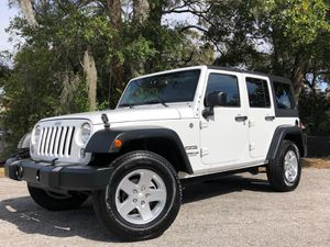 2014 Jeep Wrangler Unlimited * 123,739 Miles * $21,500 . . . NO CREDIT NEEDED 🚨 $499 Downpayment* $199 Monthly* * With Credit Approval ✅We offer fi for Sale in Tampa, FL