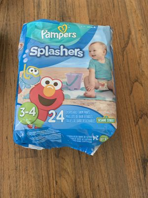Swim diapers size 3-4 new for Sale in El Monte, CA