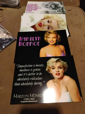 5x7 Marilyn Monroe picture for Sale in New Britain, CT