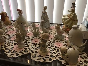 precious moments and Disney princess porcelain for Sale in Modesto, CA