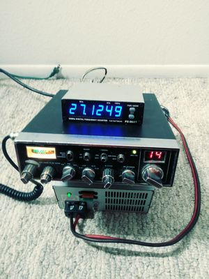 CB radio Galaxy DX 44v with frequency counter 175 150 without for Sale in Ocala, FL