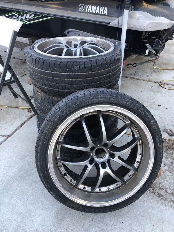 Acura / Honda / Infinity / Mazda / ETC/ 19 in. rims 5x114.3 bolt pattern Rims