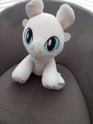 How to train your dragon light fury plushie for Sale in Houston, TX