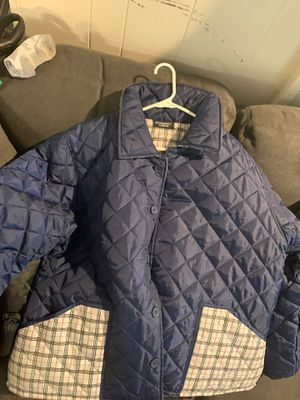 Burberry Quilted Reversible Jacket. Size XL for Sale in Greensboro, NC
