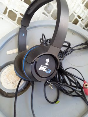 Turtle beach headset for pl4 for Sale in El Mirage, AZ
