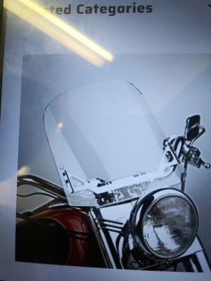 Wind Vest motorcycle windshield for Sale in Glendale, AZ