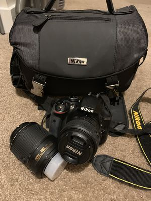 Nikon D3300 - Barely Used! for Sale in Tacoma, WA