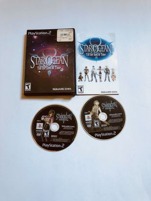 Star ocean end of time PlayStation 2 Ps2 for Sale in Long Beach, CA