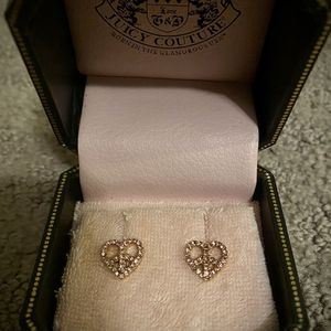 Juicy Couture Beautiful Earrings, BRAND NEW NEVER WORN for Sale in Elk Grove, CA