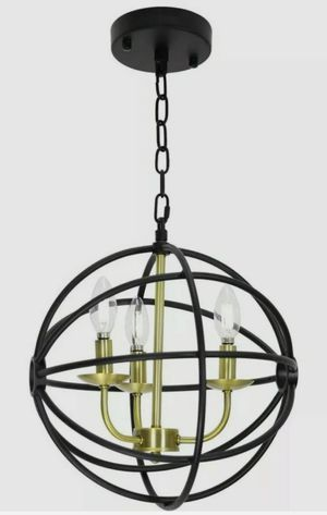 XINCAN Farmhouse Ceiling Pendant 3 Light Fixture Rustic Globe Modern Chandelier for Sale in New Castle, IN