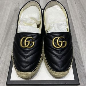 Gucci leather espadrille with double G for Sale in Orlando, FL