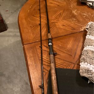 81/2 Ft Abu Garcia Northern Plus Salmon Steelheader Graphite Bait Saying Rod for Sale in Portland, OR
