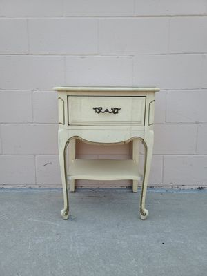 French provincial side table night stand end table for Sale in Huntington Beach, CA