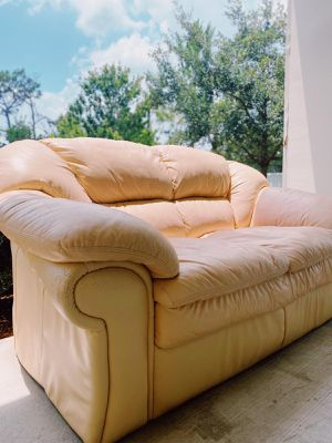 Beige couch for Sale in Bay Lake, FL