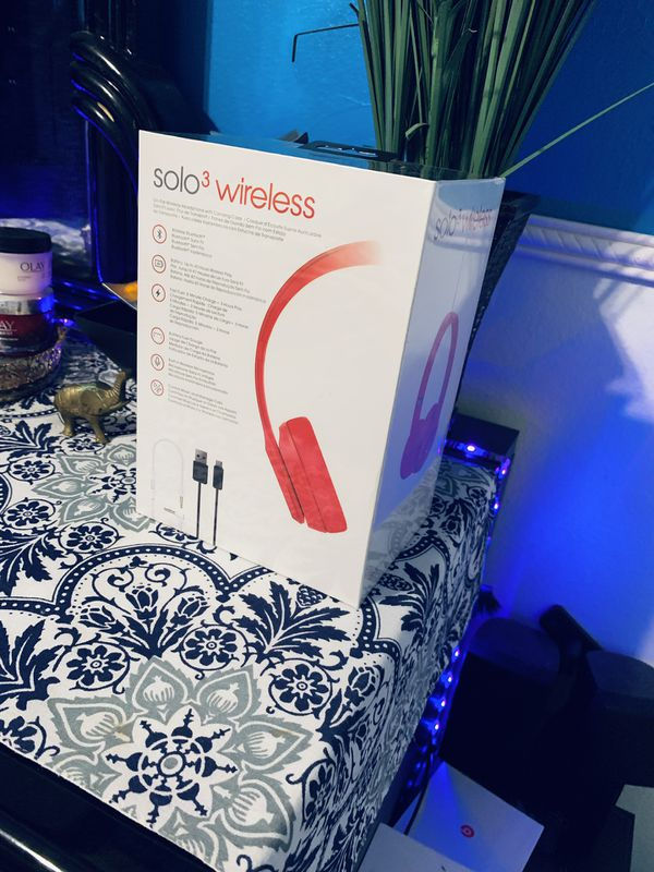 Beats Solo 3 Wireless Red Limited Edition!