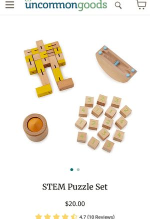 STEM Puzzle Set , 4 brain games! for Sale in Seattle, WA