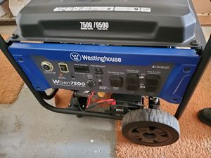 Westinghouse 7500 Generator for Sale in Gilroy, CA