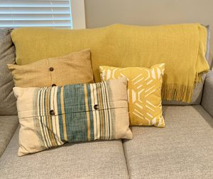 Blanket and Throw Pillow Set for Sale in Ashburn, VA