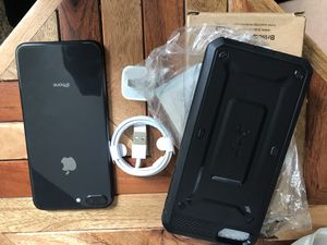 iPhone 8 Plus! W/new case! for Sale in Worth, IL