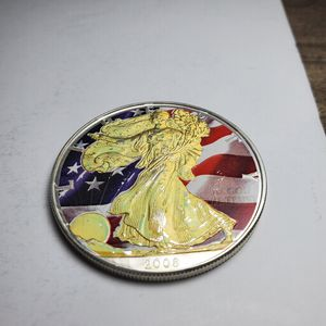 2008 1 Oz. Walking Liberty colored for Sale in South El Monte, CA