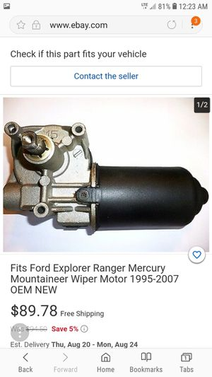 Ford oem parts new ranger aerostar explorer 4.0 for Sale in Lombard, IL