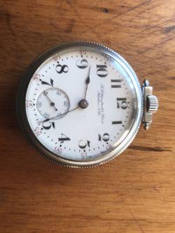 Hamilton pocket watch for Sale in West Glover,  VT