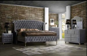 Furniture bedroom set finance available for Sale in Garland, TX