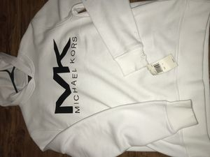 MK White Coated Hoodie Retail $90 Low Price Of $35 for Sale in Philadelphia, PA