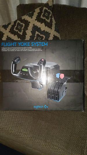 Logitech Flight yoke system for Sale in Los Angeles, CA