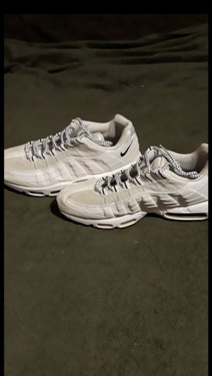 "Nike air max 95 ""white black for Sale in Pasadena, CA"