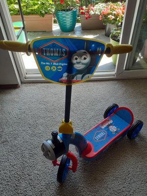 Musical Thomas kick scooter (almost new)😊 for Sale in Everett, WA