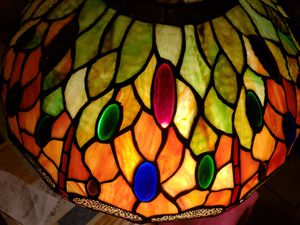 Tiffany lamp with dragonfly for Sale in Moreno Valley, CA